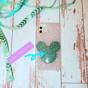 Iphone 11 case ombre pearly